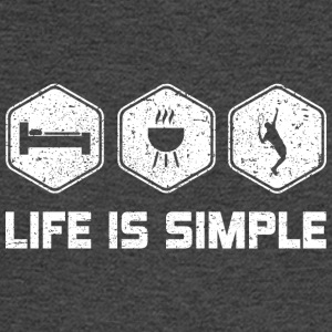 LIFE IS SIMPLE - TENNIS - Men's Long Sleeve T-Shirt