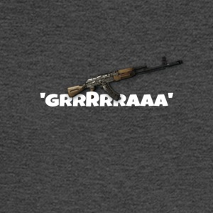 Ak47 GRRRRAAA Design - Men's Long Sleeve T-Shirt