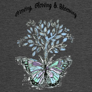 Growing, Glowing and Blooming - by Fanitsa Petrou - Men's Long Sleeve T-Shirt