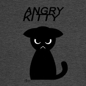 Angry Kitty - Men's Long Sleeve T-Shirt
