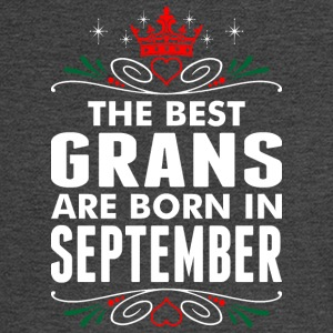 The Best Grans Are Born In September - Men's Long Sleeve T-Shirt