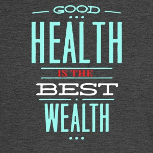 Health is the best wealth - Men's Long Sleeve T-Shirt