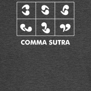 Comma Sutra - Men's Long Sleeve T-Shirt