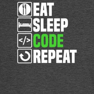 Eat Sleep Code - Men's Long Sleeve T-Shirt