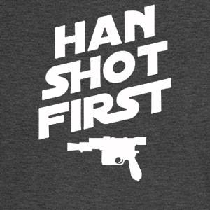 Han Shot First - Men's Long Sleeve T-Shirt