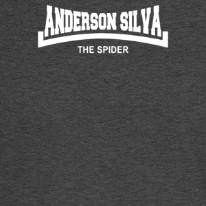 Anderson The Spider Silva Slogan - Men's Long Sleeve T-Shirt