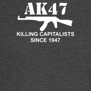 AK47 funny political weapons cool retro rude - Men's Long Sleeve T-Shirt