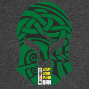 Gladiator helmet Fitnoquit iron soul - Men's Long Sleeve T-Shirt