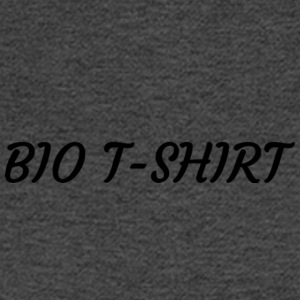 BIO T-SHIRT Logo - Men's Long Sleeve T-Shirt