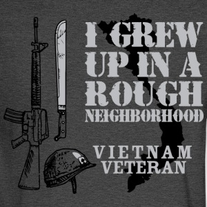 I Grew Up In A Rough Neighborhood - Men's Long Sleeve T-Shirt
