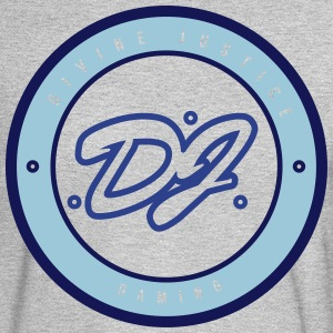 DJ_WITH_circle_AI - Men's Long Sleeve T-Shirt