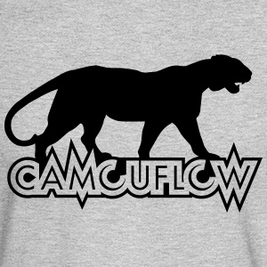 Camouflow Panther Logo - Men's Long Sleeve T-Shirt