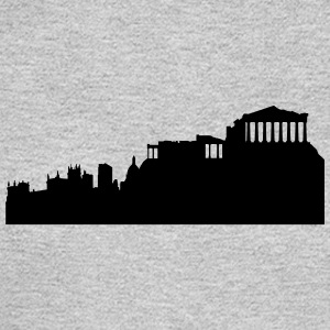 Athens silhouette - Men's Long Sleeve T-Shirt