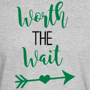 Worth the Wait Newborn - Men's Long Sleeve T-Shirt