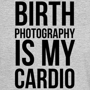 birth photography is my cardio - Men's Long Sleeve T-Shirt