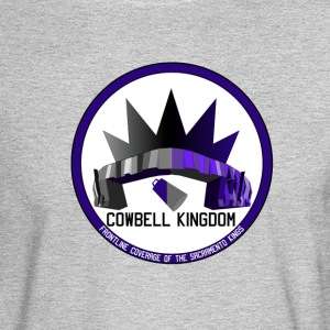 Cowbell Kingdom Logo Clothing - Men's Long Sleeve T-Shirt