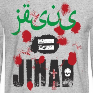 Jesus = jihad - Men's Long Sleeve T-Shirt