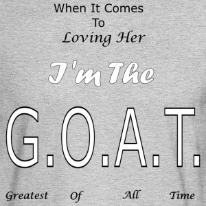 Loving GOAT (Her) - Men's Long Sleeve T-Shirt