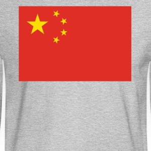 Flag of China Cool Chinese Flag - Men's Long Sleeve T-Shirt