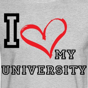 I_LOVE_MY_UNIVERSITY - Men's Long Sleeve T-Shirt