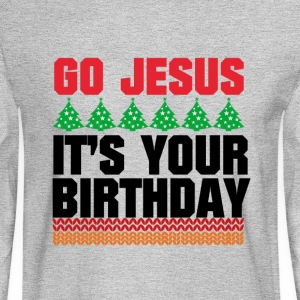 GO JESUS - Men's Long Sleeve T-Shirt