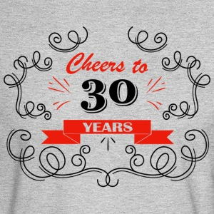 Cheers to 30 years - Men's Long Sleeve T-Shirt
