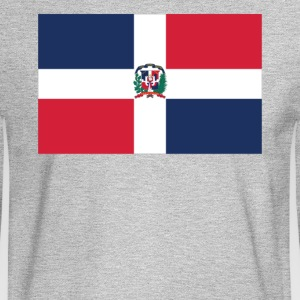 Flag of the Dominican Republic Cool Flag - Men's Long Sleeve T-Shirt