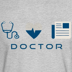 CREATIVE DESIGN || DOCTOR - Men's Long Sleeve T-Shirt