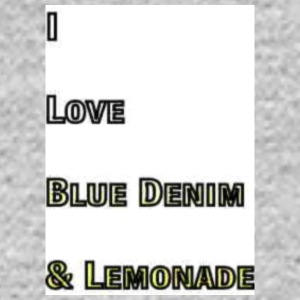 Love Blue Denim and Lemonade Tag Patch Brand - Men's Long Sleeve T-Shirt