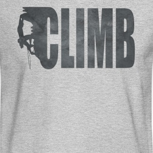 Rock Climbing T Shirt - Men's Long Sleeve T-Shirt