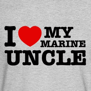 marine uncle design - Men's Long Sleeve T-Shirt