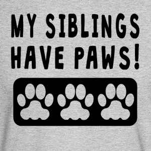 My Siblings Have Paws - Men's Long Sleeve T-Shirt
