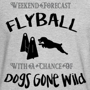 Flyball Weekend Forecast - Men's Long Sleeve T-Shirt