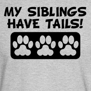 My Siblings Have Tails - Men's Long Sleeve T-Shirt