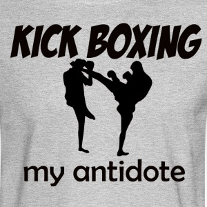 Kick Boxing design - Men's Long Sleeve T-Shirt