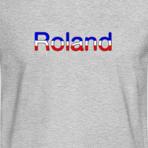 Roland Tricolor - Men's Long Sleeve T-Shirt
