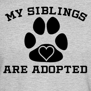 My Siblings Are Adopted - Men's Long Sleeve T-Shirt