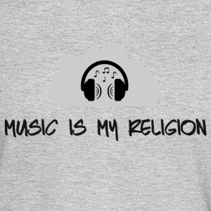 music_is_my_religion_ - Men's Long Sleeve T-Shirt