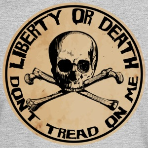 Liberty or Death Dont Tread On Me - Men's Long Sleeve T-Shirt