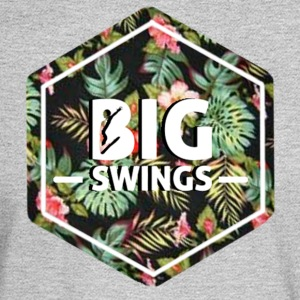 Big Swings Floral Design - Men's Long Sleeve T-Shirt