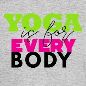 Yoga Is For EVERY body - Men's Long Sleeve T-Shirt