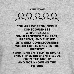 2017 03 25 GROUP CONSCIOUS INTO SELF CONSCIOUS - Men's Long Sleeve T-Shirt
