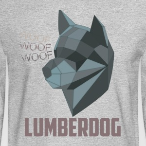 LumberDog - Men's Long Sleeve T-Shirt