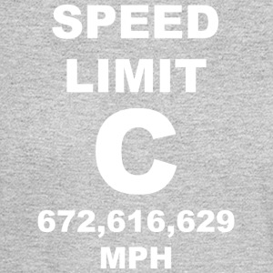 Speed of light posters - Men's Long Sleeve T-Shirt