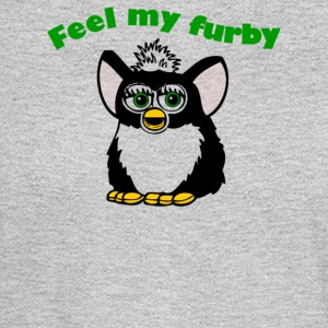 Feel My Furby - Men's Long Sleeve T-Shirt