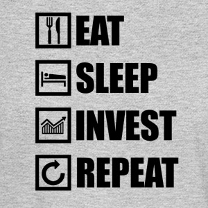 EAT SLEEP INVEST REPEAT - Men's Long Sleeve T-Shirt