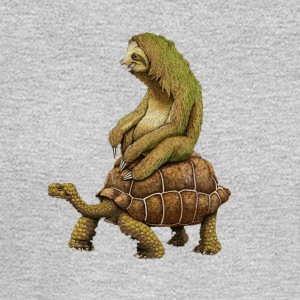 Funny Turtle t shirt,Fast,Animal,Lucky Turtle,Ninj - Men's Long Sleeve T-Shirt