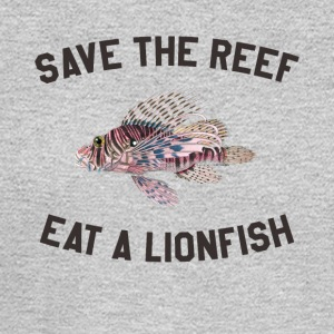 Save The Reef Eat A Lionfish - Men's Long Sleeve T-Shirt