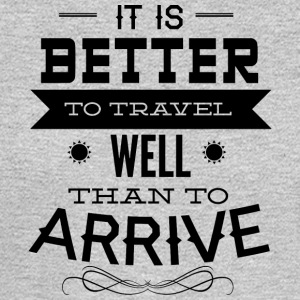 it_is_better_to_travel - Men's Long Sleeve T-Shirt