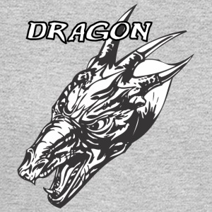 Wild_dragon_with_three_horns - Men's Long Sleeve T-Shirt